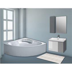 Комплект в ванную Pasha 80-120 см +умывальник иск.камень