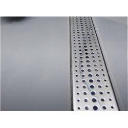 Душевой канал (трап) с решеткой Бейсик 65 см (Чехия)