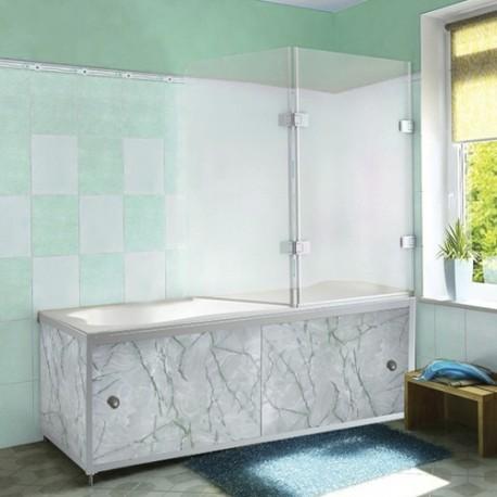 Экран под ванную Зеленая акварель