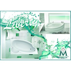 Ванна Liberty Размер 170×110×40 (+панель, +ножки)