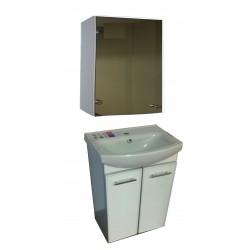 Зеркальный шкаф (пластик)