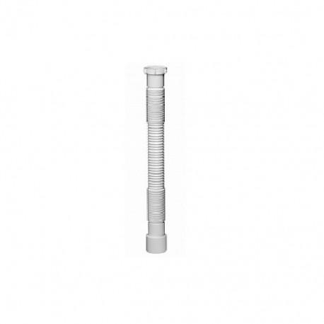 Гофрированная труба 1 1/2х40/50 мм удлиненная min 600 - max 1250
