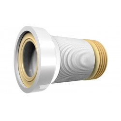 Гофра для унитаза неармированная 230/560 мм