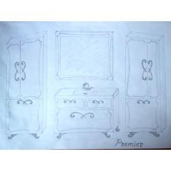 Комплект мебели Premier