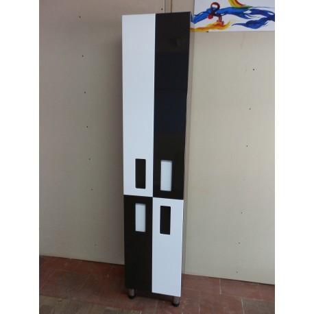 Пенал «Токіо» цвет RAL 8019, 40х190х30 см+корзина