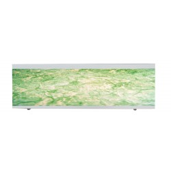 Экран под ванну I-screen light Green marble