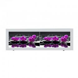 "Экран под ванну I-screen premium ""Pink orchid"""