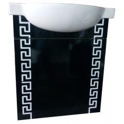 Тумба Греция black&white