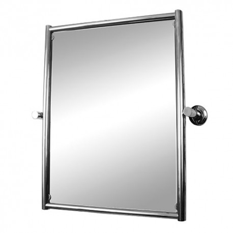Зеркало поворотное для ванной комнаты 40 см