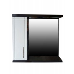 Зеркальный шкаф ВЕНГЕ 2.0