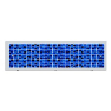 Экран под ванну I-screen premium Quadro синий