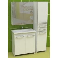 """Комплект пластиковой мебели в ванну """"Eco Green"""" Z-1"""