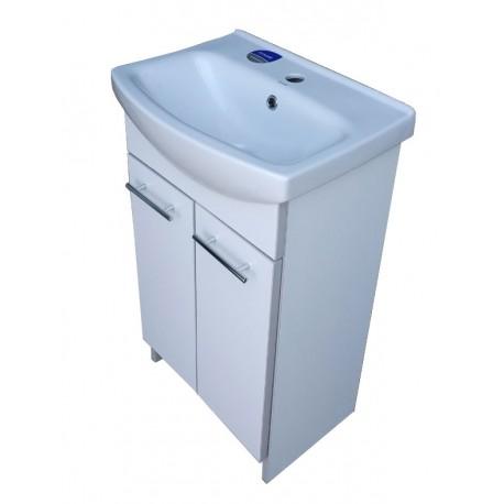 Тумба пластиковая 2.0 white (2 двери)