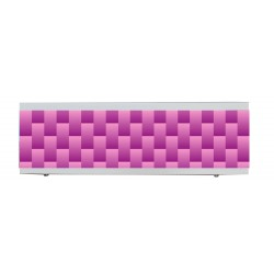 Экран под ванну I-screen light плитка розовая
