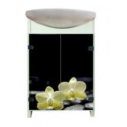 ТУМБА Eco Green light Орхидея с умывальником CERSANIT Cersania