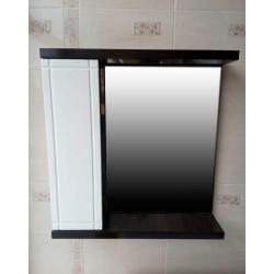 Зеркальный шкаф ВЕНГЕ 2.0 ширина 70 см