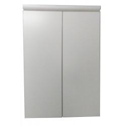 Шкаф подвесной Plastic 2.2 с полками