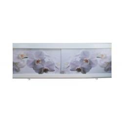 Экран под ванну I-screen light PREMIUM Белые орхидеи