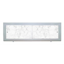 Экран под ванну I-screen premium Белый мрамор
