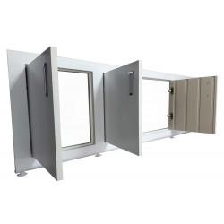 Экран под ванну с распашными дверками Shampain 2.0
