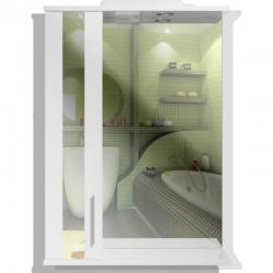 Зеркало в ванну Минск 50*88*17 левый
