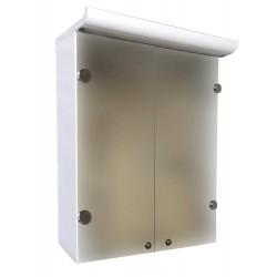 Зеркальный шкаф Eco Green Z-2 (пластик) 60 см