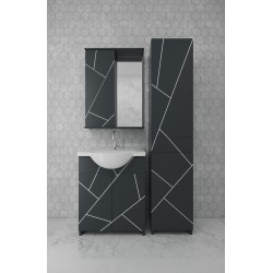 Комплект мебели Chaos 2021 white&grey