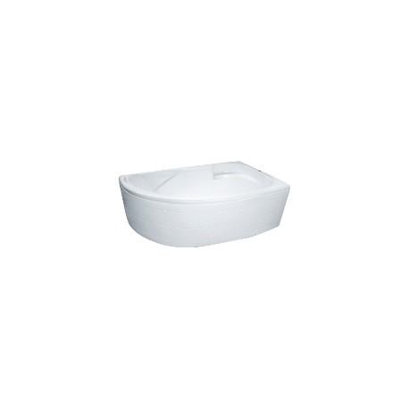 Ванна акриловая асимметричная Мэрэлин 1700х1000х550 (панель, крест, ноги)