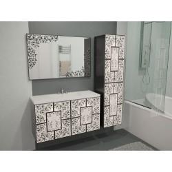 """Комплект в ванную """"Иллюзия"""" с умывальником"""