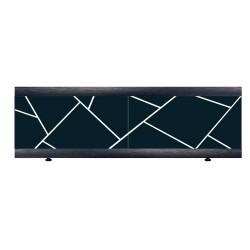 Экран под ванну I-screen light Premium Chaos antracit