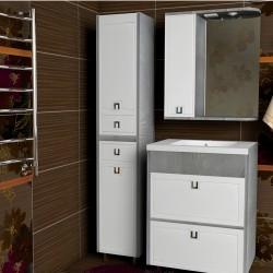 Комплект мебели Arusha 80-120 см +умывальник иск.камень