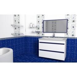 Комплект в ванную «Киевлянка» 80-120 см +умывальник иск.камень