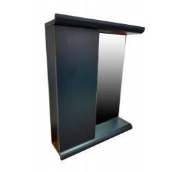 Зеркало с полками Plastic 2.1 Antracit
