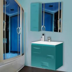 Комплект в ванную Breez 80-120 см +умывальник иск.камень