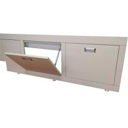 Экран с ящиками под ванну Shampain 8.0 Лями 3243 velur