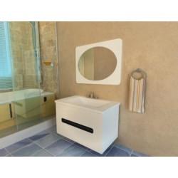 Комплект в ванную «Бостон» 80-120 см +умывальник иск.камень