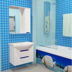 """Комплект в ванную """"Sumchanka"""" 80-120 см +умывальник иск.камень"""