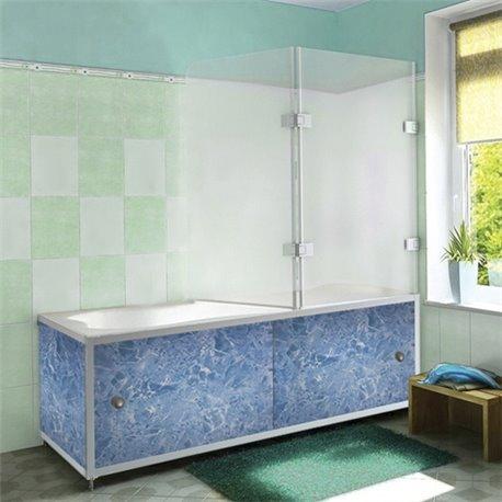 Экран под ванную Синий гранит