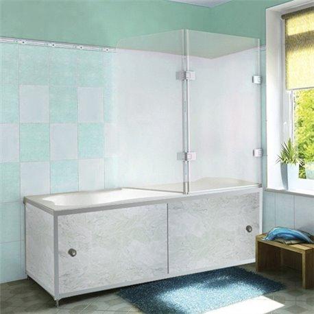 Экран под ванную Голубой мрамор