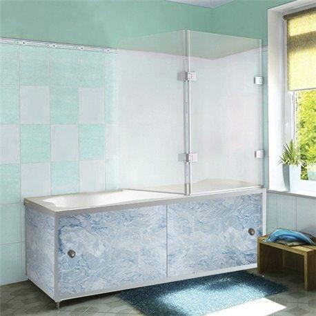 Экран под ванную Голубой лед