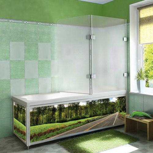 Купить экран для ванной в украине цветной