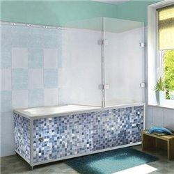 Экран под ванную Синий кафель