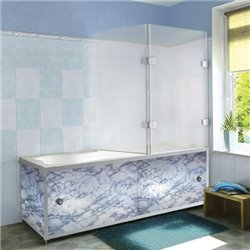 Экран под ванную голубой камень 67,5 - 170 см