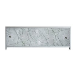 Экран под ванную Зеленая акварель 170 см